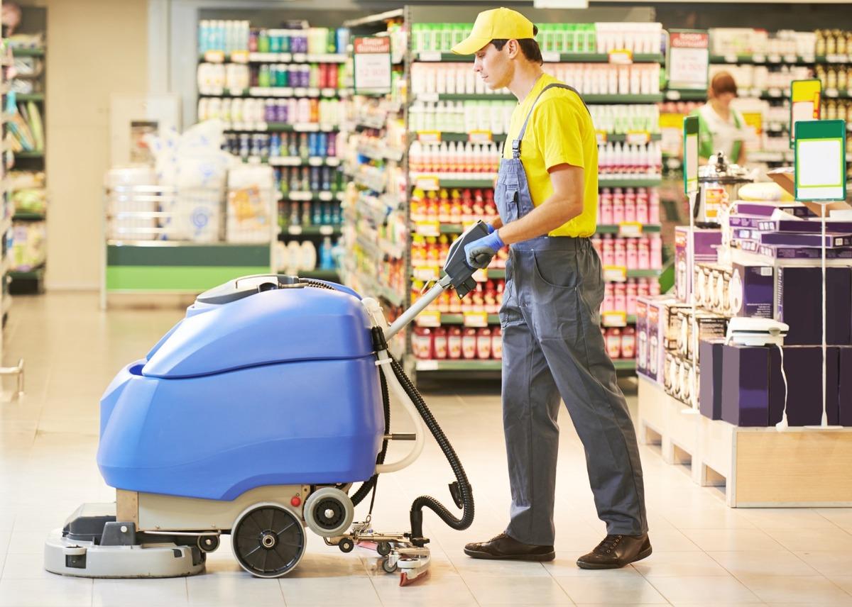 Nettoyage des grandes surfaces